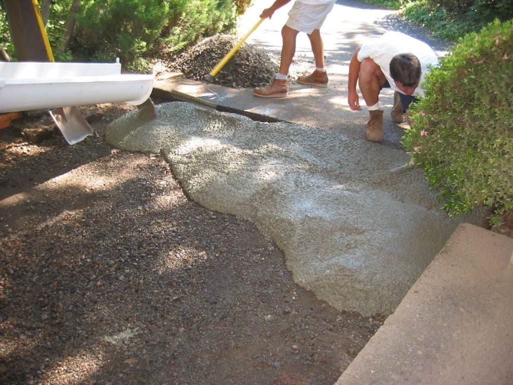 utility driveway landscape design 6