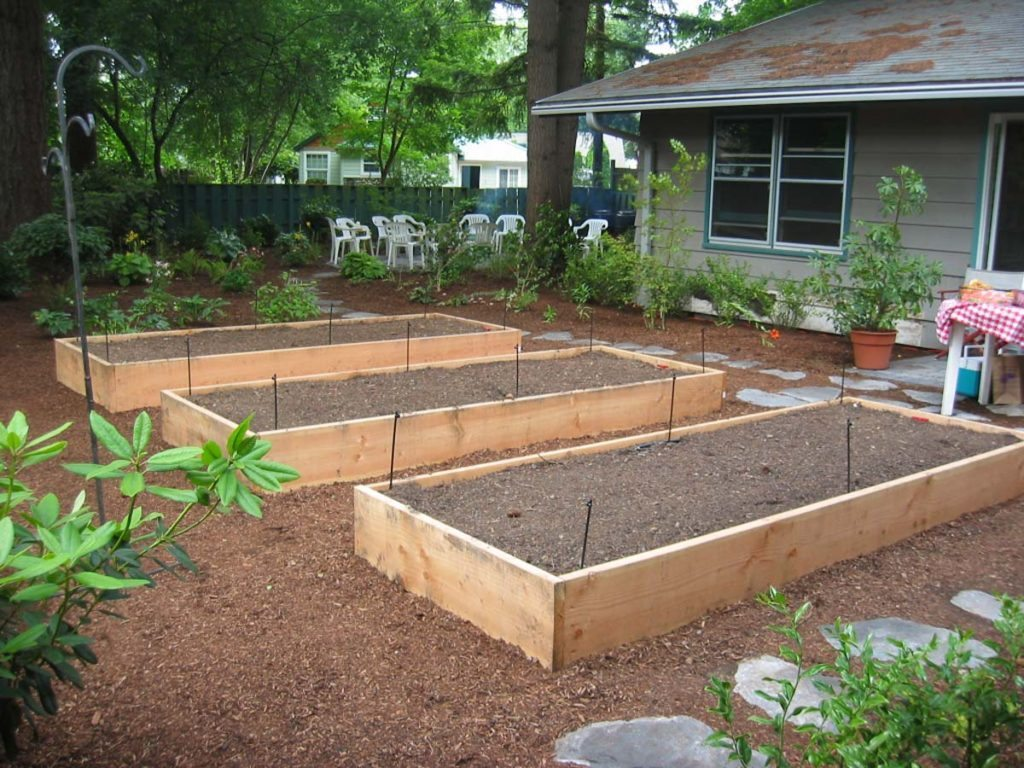 raised beds in landscape salem oregon