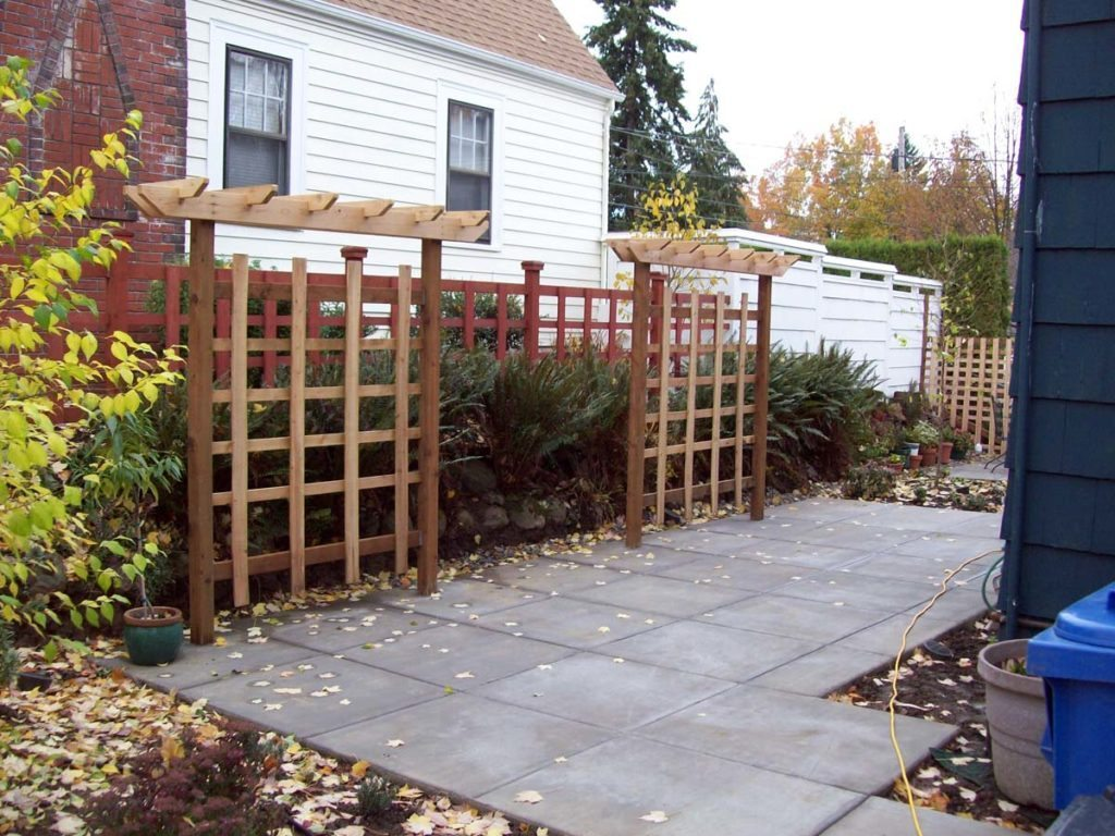 patio arbor trellis salem landscape design