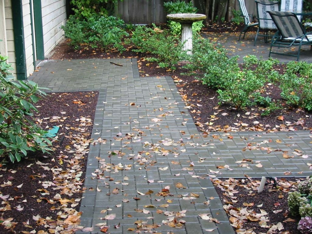 concrete pavers outdoor living salem landscape pathway