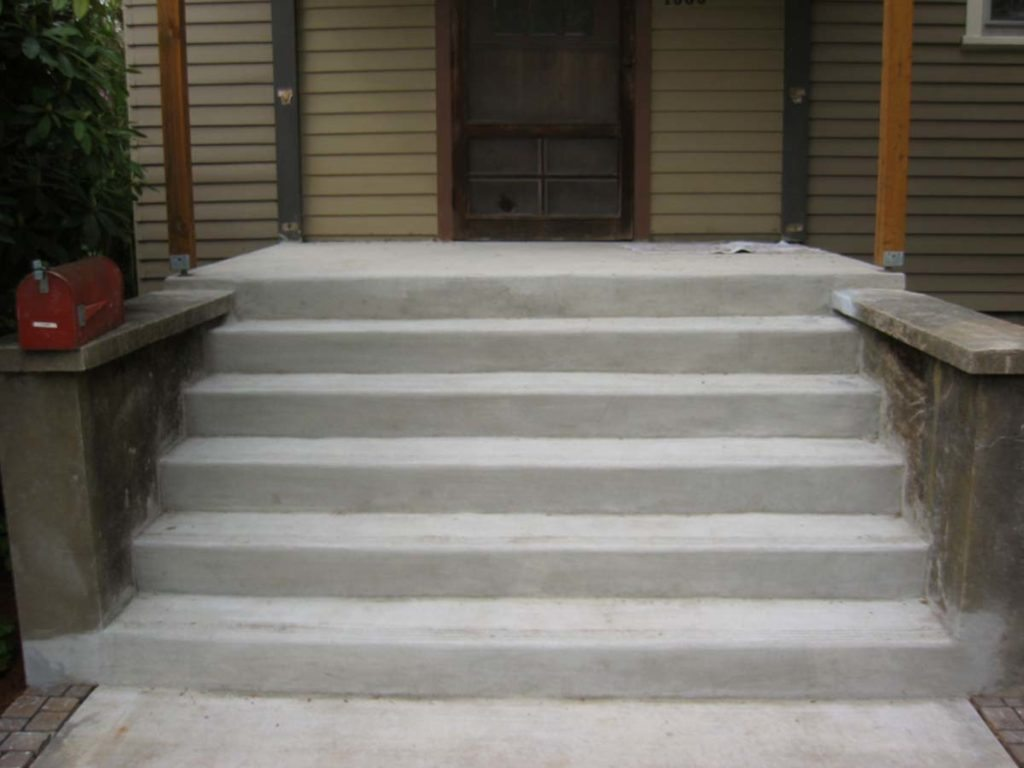 concrete steps in salem oregon