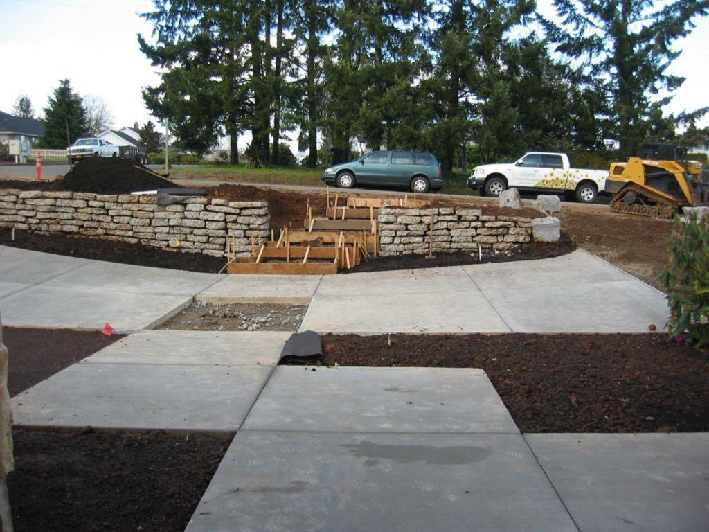 driveway landscape design salem oregon