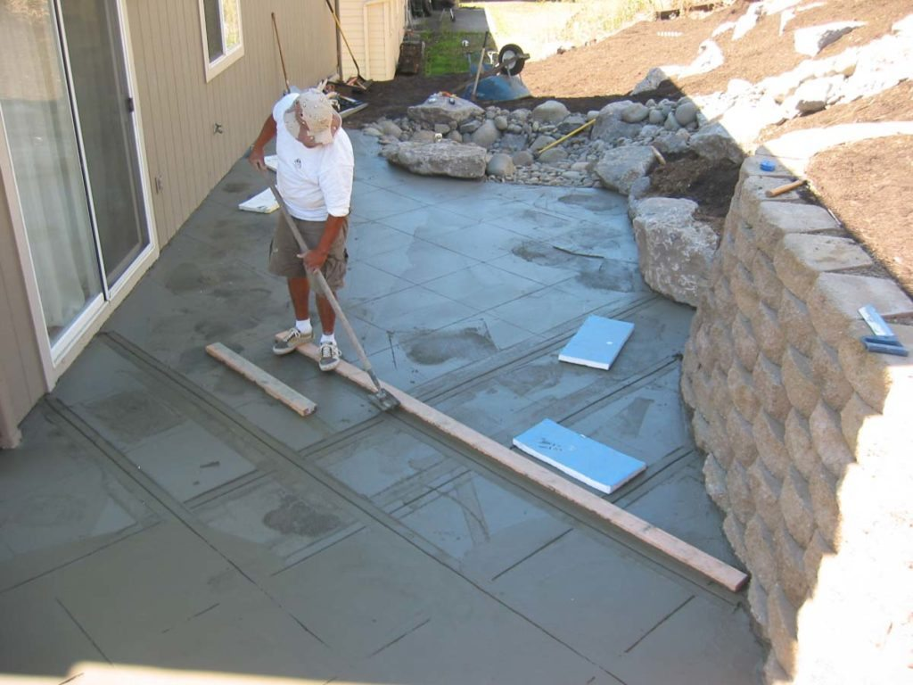 concrete expansion joints salem oregon landscape