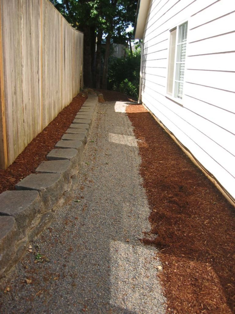 crushed gravel path landscape design 2