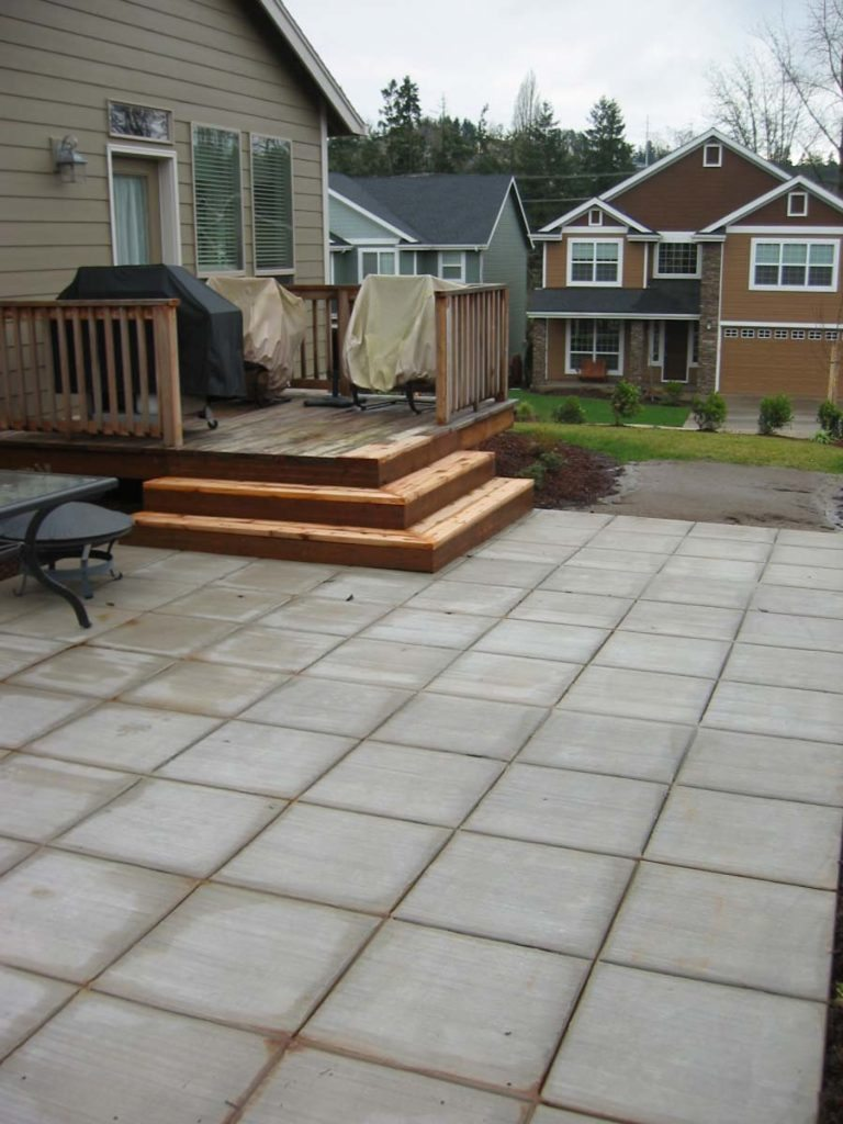 deck concrete patio salem landscape design