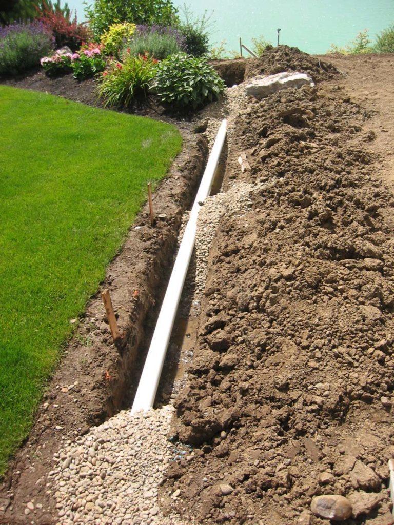 drainage landscape salem