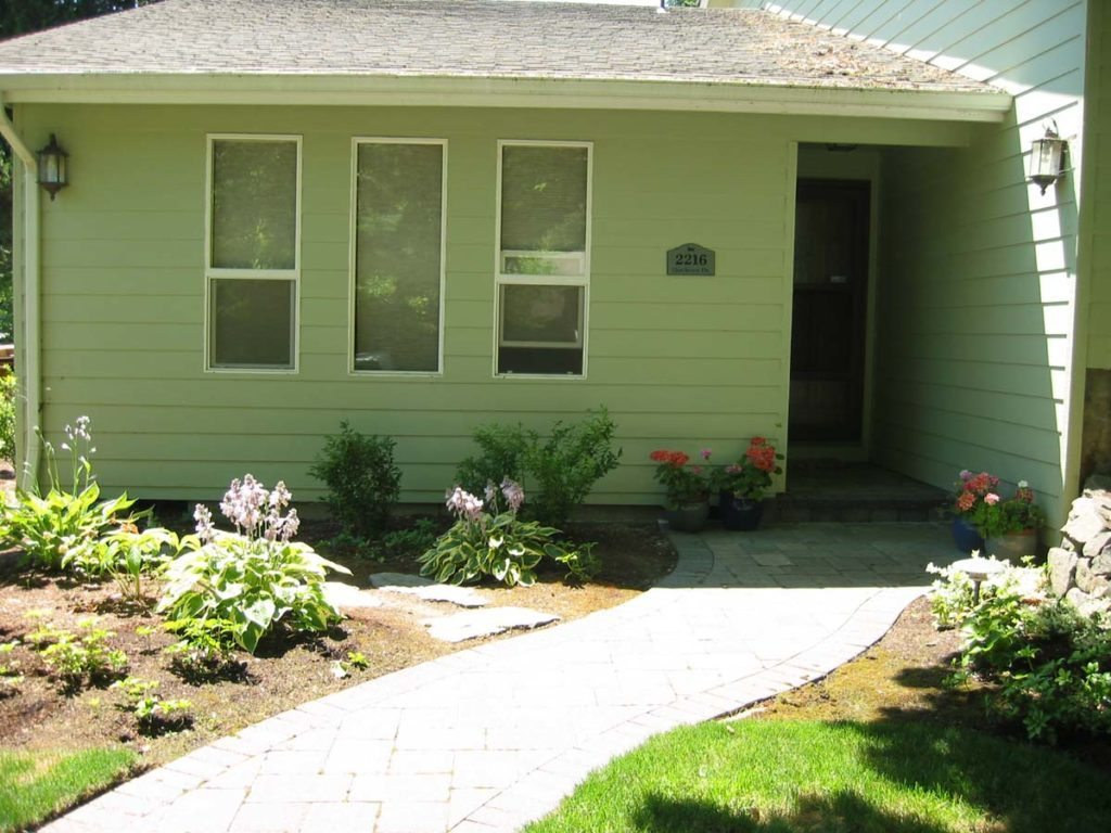 concrete brick walkway design salem oregon