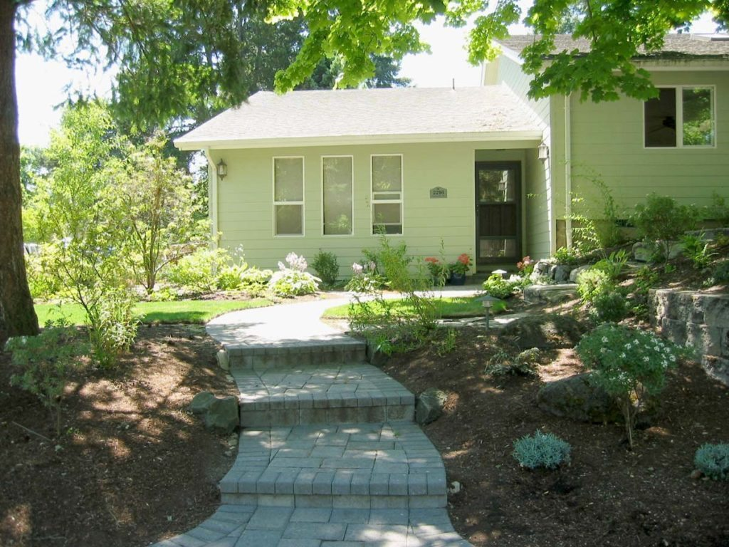 concrete brick walkway design salem oregon 2