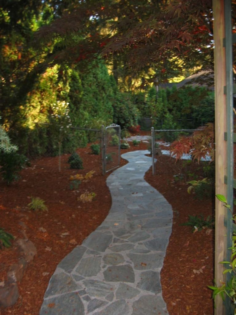 flagstone pathway in salem oregon