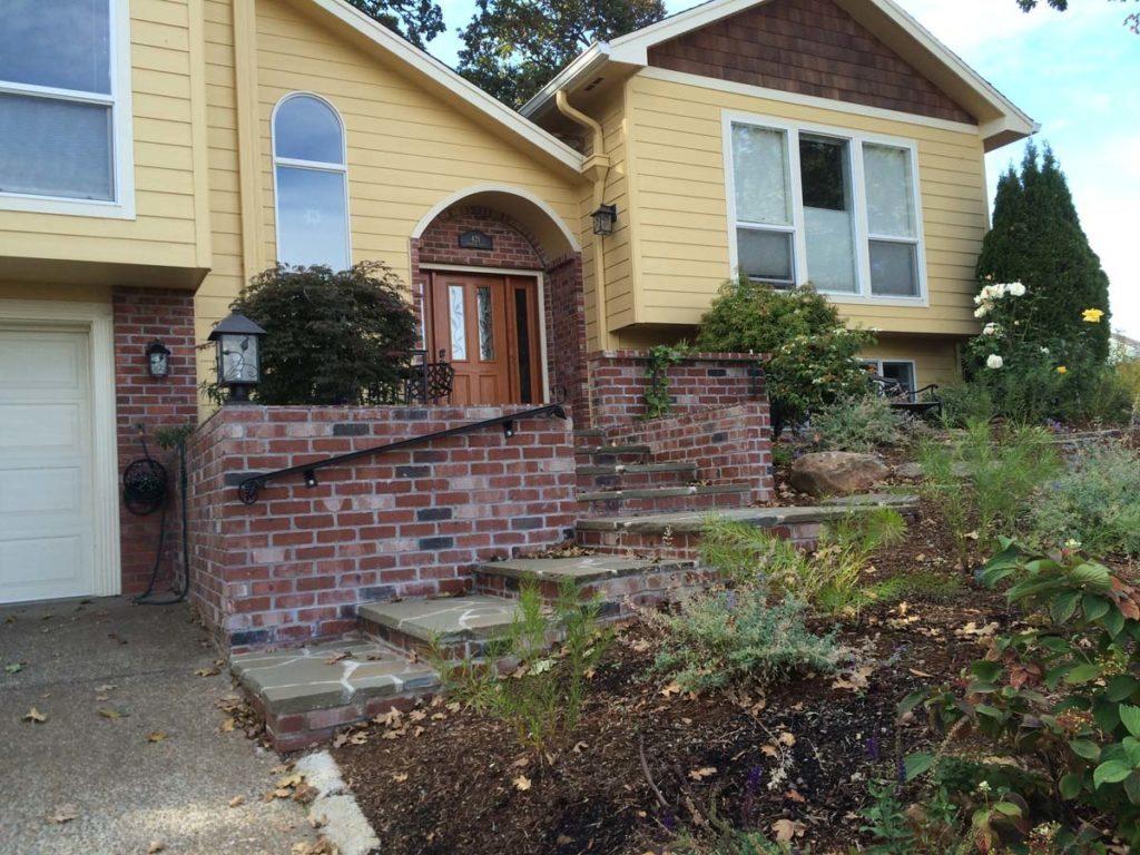 front porch landscaping design