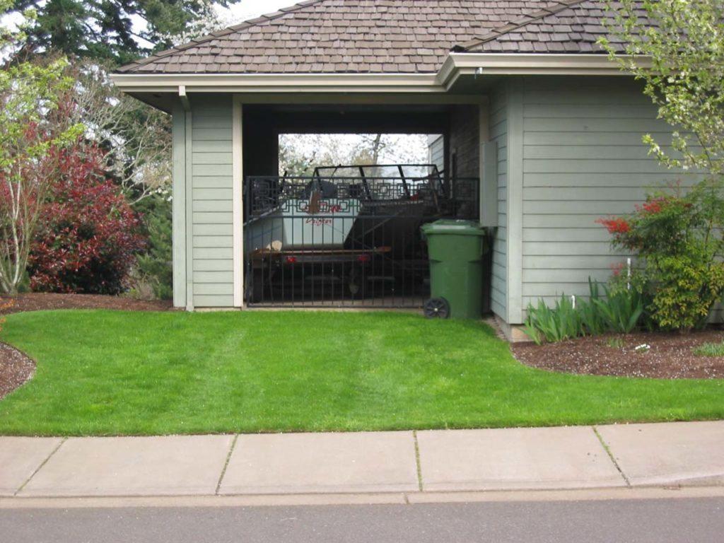 utility driveway landscape design 2