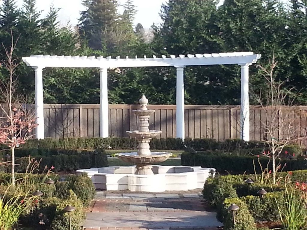 folly and pergola in landscape design in bloom 6