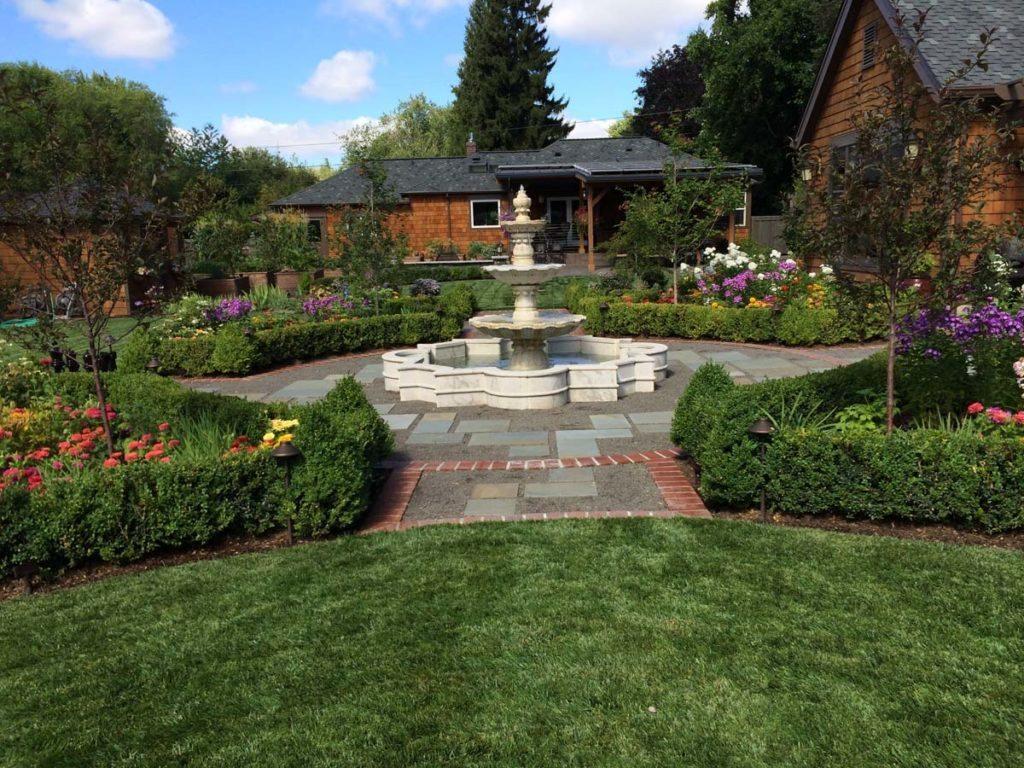 salem grass patio pergola landscape design