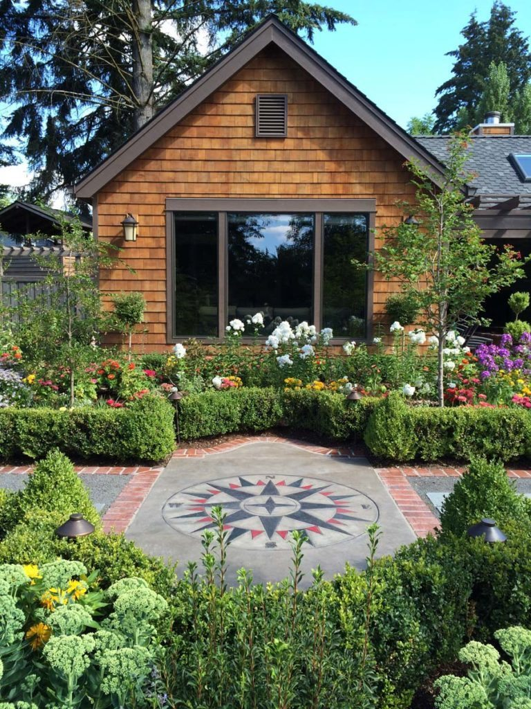 fun details in garden landscape design