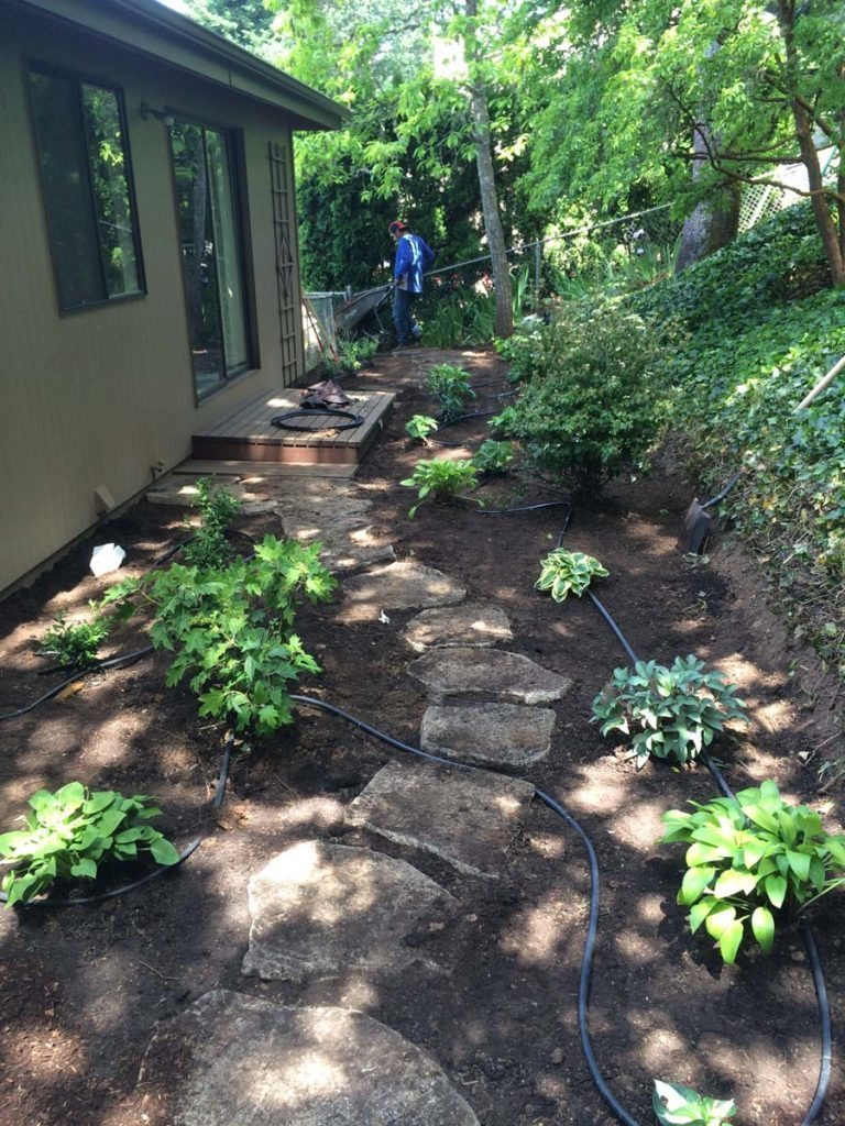 split stone pathway salem oregon