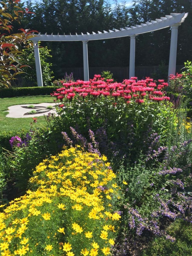 folly and pergola in landscape design in bloom 5