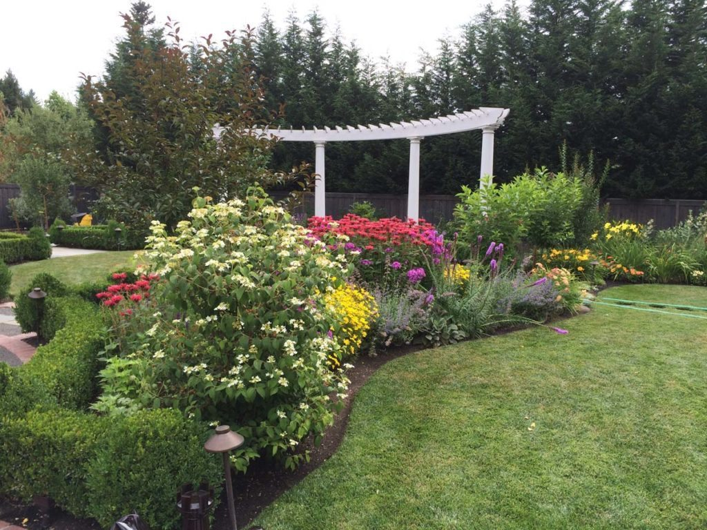 folly and pergola in landscape design in bloom 2