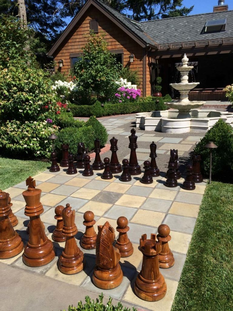 play spaces in landscape design chess
