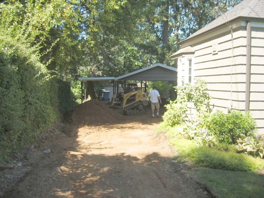 site prep for driveway salem oregon