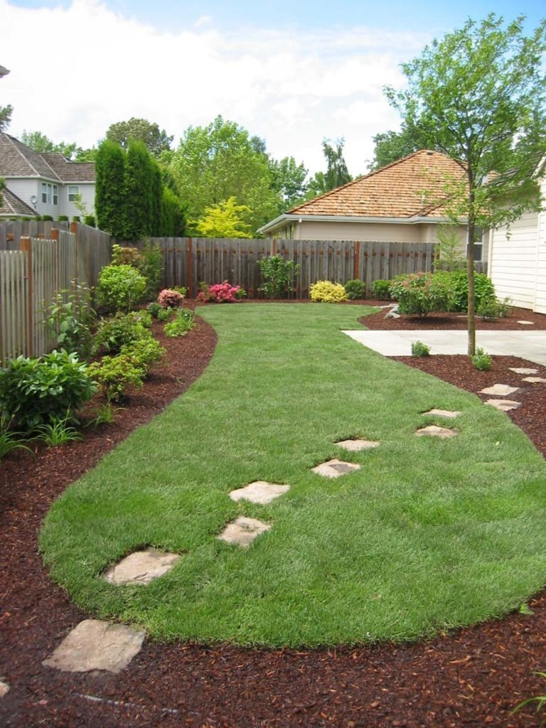 split stones through lawn design salem