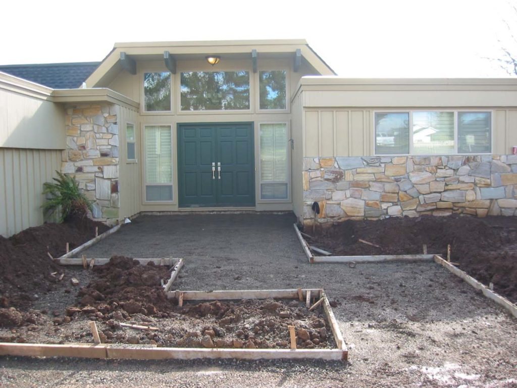 install of entry landscape design salem
