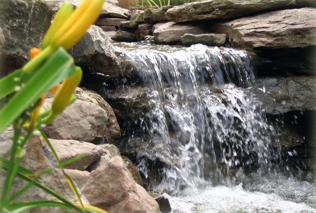 waterfalls in water feature landscape design 3