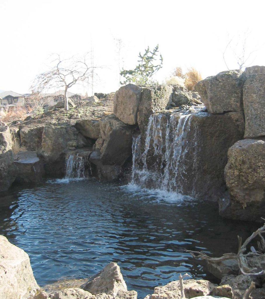 waterfalls in water feature landscape design