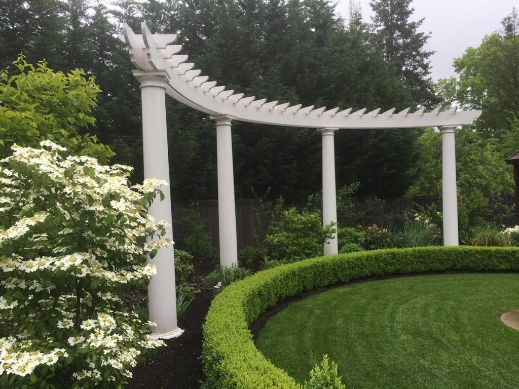 folly and pergola in landscape design in bloom 4