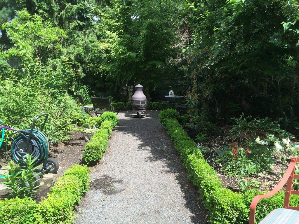 fire spaces to spark fun with crushed gravel pathway in salem oregon