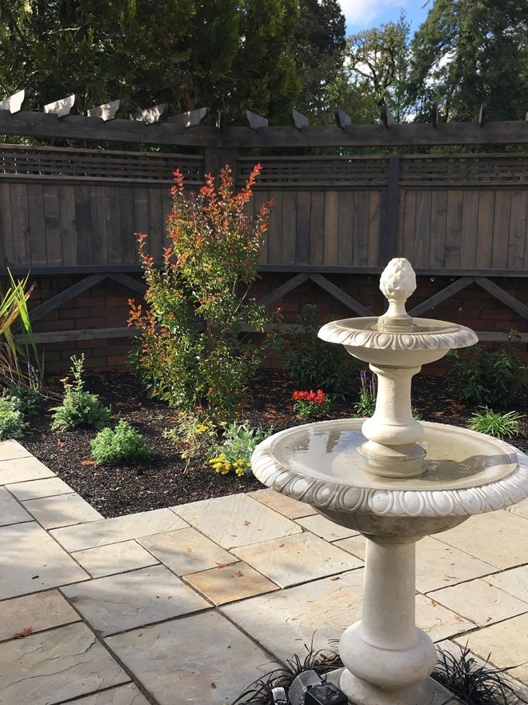 fountain landscape design salem