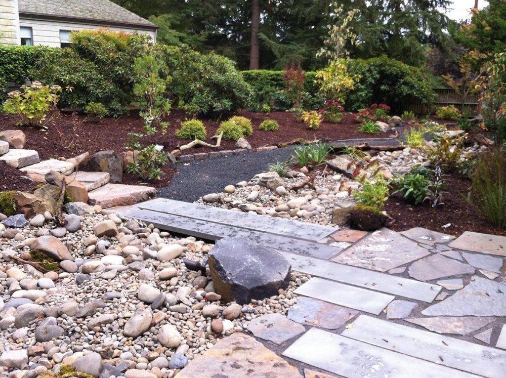 salem pathway boulders landscape design