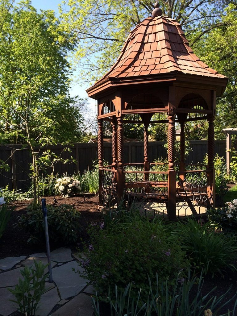 gazebo salem landscape design