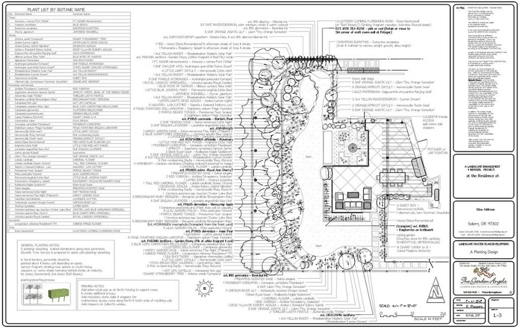 landscape plan sample design 5