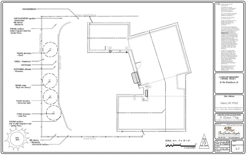 landscape plan sample design 7