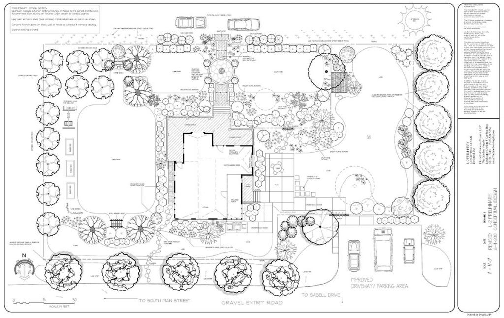 landscape plan sample design 11