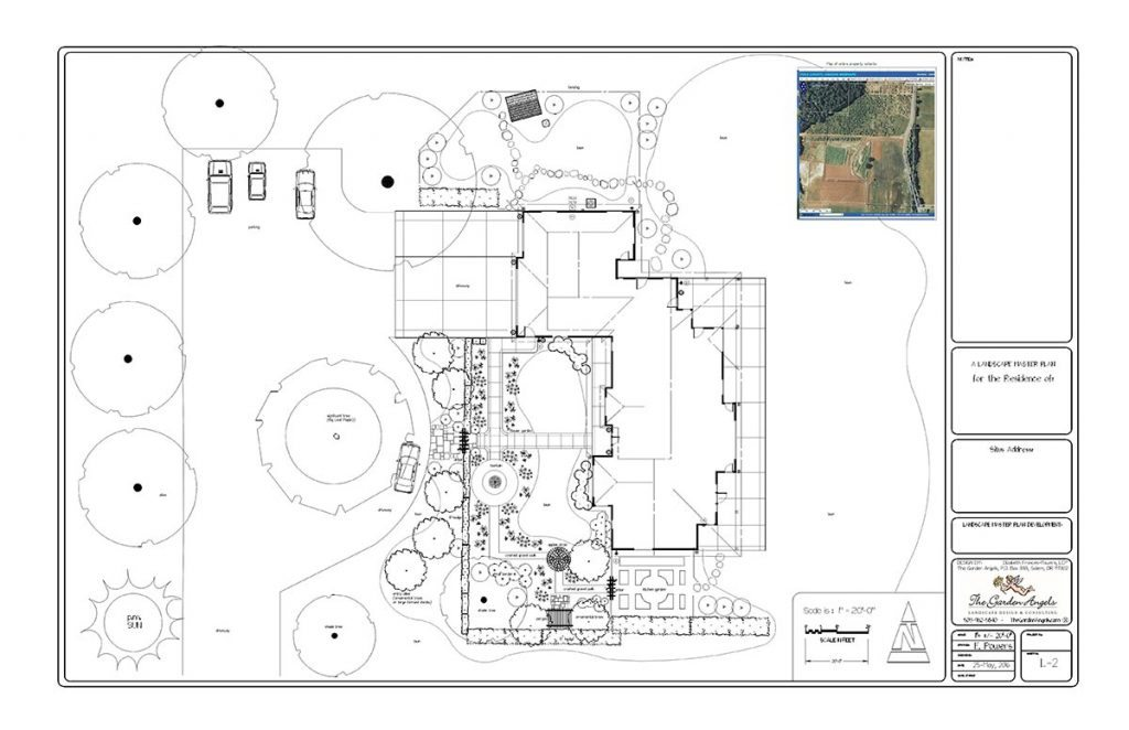 landscape plan sample design 12