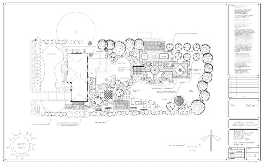 landscape plan sample design 13