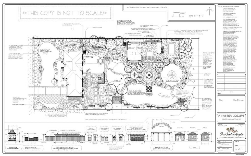 landscape plan sample design 14