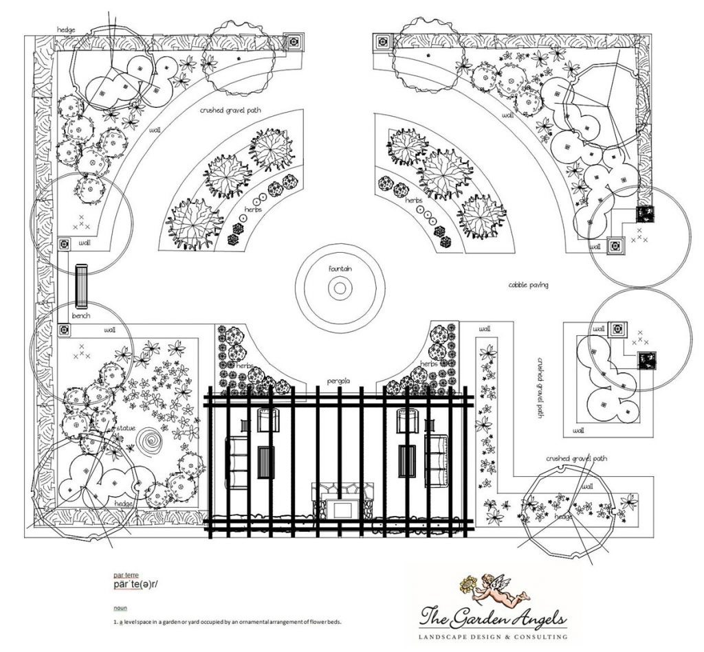 landscape plan sample design 19