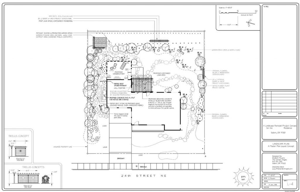 landscape plan sample design 23