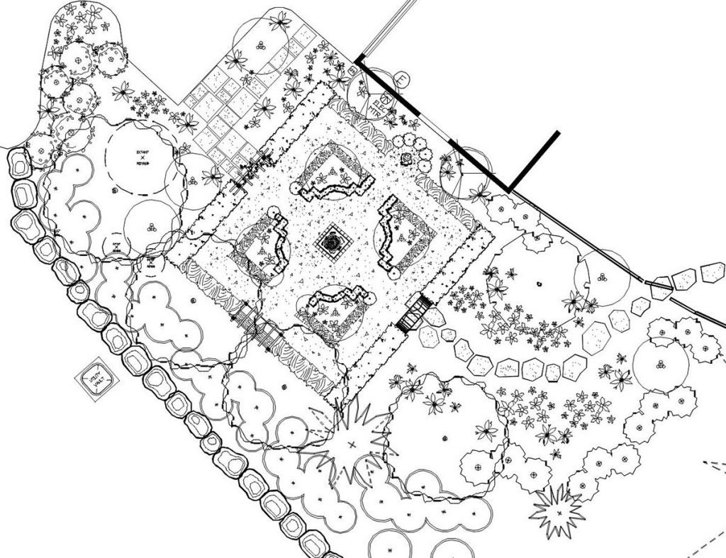 landscape plan sample design 25