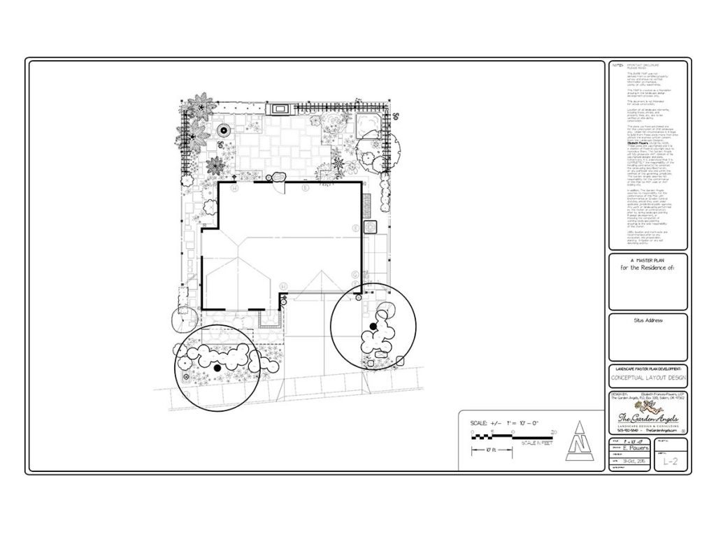 landscape plan sample design 27