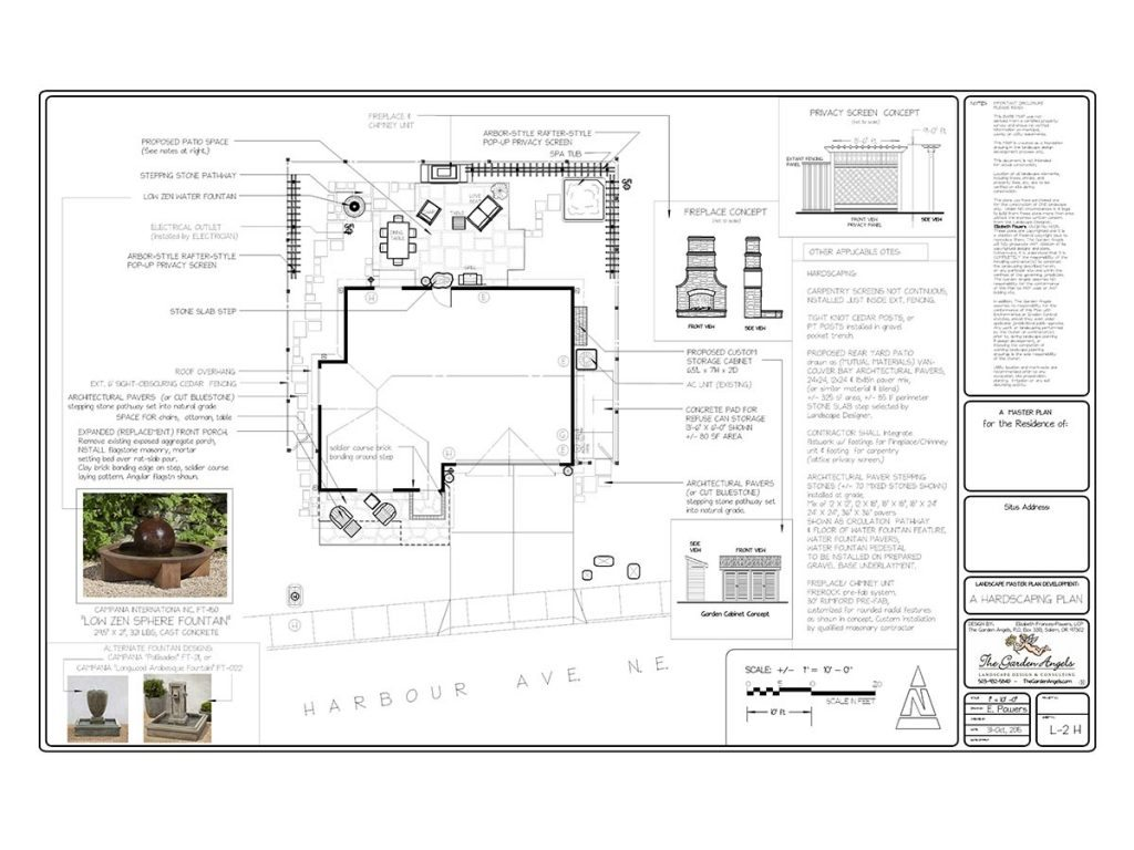 landscape plan sample design 28