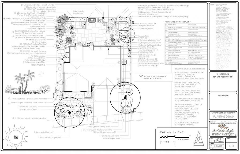 landscape plan sample design 29