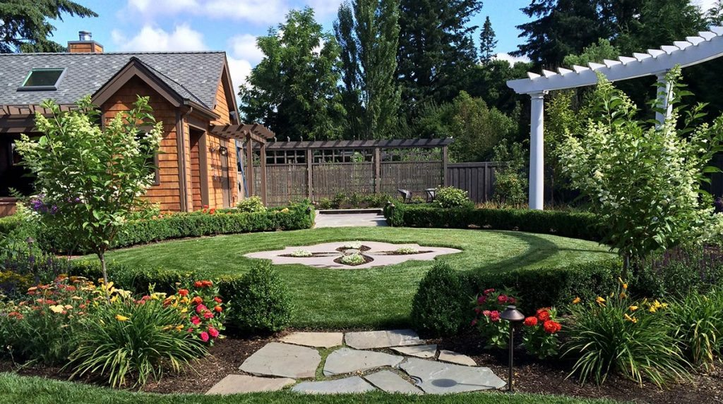 salem grass patio pergola landscape design